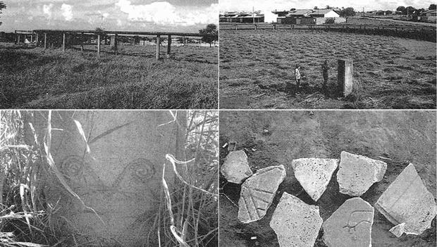 Imagens que foram incluídas no pedido de liminar feito pelo MP-GO à Justiça   Foto: MP-GO