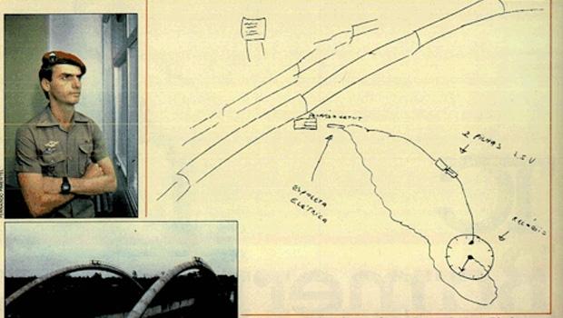 """Em 1987, a revista """"Veja"""" provou que Bolsonaro mentiu ao negar conspiração contra o então ministro do Exército"""