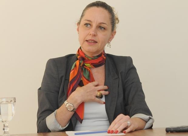 Secretária Ana Carla Abrão em entrevista ao Jornal Opção   Foto: Renan Accioly / Jornal Opção