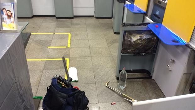 Graer prende quadrilha especializada em arrombar caixas eletrônicos na capital