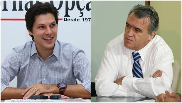 Daniel Vilela e Jorcelino Braga | Fotos: Jornal Opção
