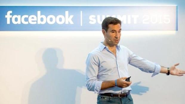 O vice-presidente do Facebook na América Latina, Diego Dzodan Foto: Reprodução/Página do Facebook