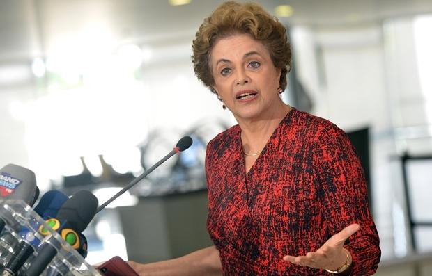 Entrevista da presidente Dilma Rousseff sobre nomeação do ex-presidente Luiz Inácio Lula da Silva para a Casa Civil | Foto: Wilson Dias/Agência Brasil