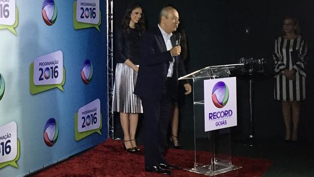"""""""Record continuará investindo e produzindo porque acredita no Brasil"""", diz presidente"""