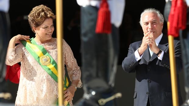PMDB oficializa rompimento com o governo Dilma
