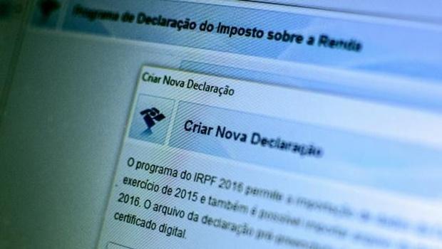 O programa da Declaração do Imposto de Renda Pessoa Física 2016, ano-base 2015, já está disponível no site da Receita Federal   Foto: Marcelo Camargo/ Agência Brasil