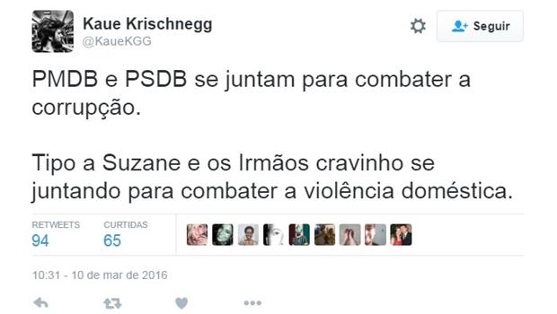 """PMDB e PSDB assumem união para """"salvar o País"""" e assunto repercute nas redes sociais"""