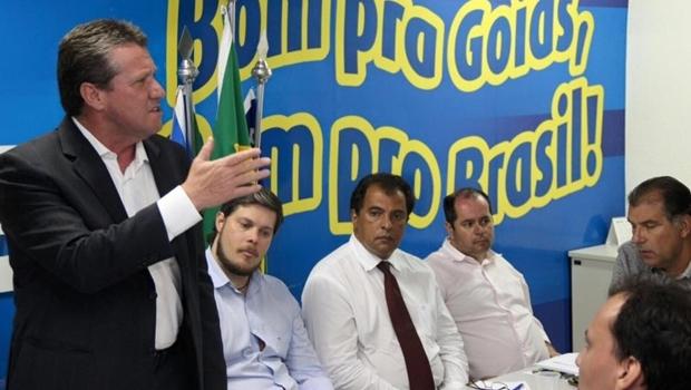 Deputado Giuseppe Vecci em primeiro evento da pré-campanha   Foto: reprodução/ Facebook