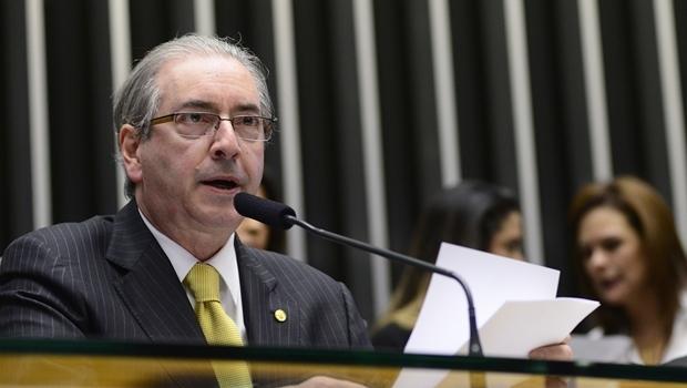 Presidente da Câmara dos deputados, Eduardo Cunha (PMDB-RJ) comanda os trabalhos no plenário | Foto: Gustavo Lima/ Câmara dos Deputados