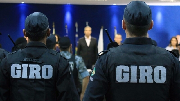 Primeira aula do Curso de Intervenção Rápida Ostensiva da Polícia Militar começou nesta sexta-feira (1º/4) | Foto: André Saddi