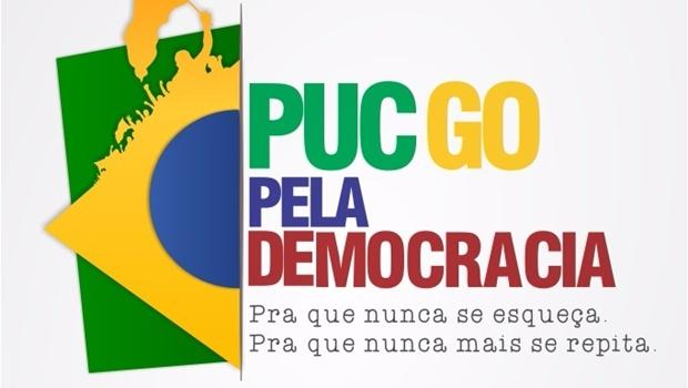 Integrantes de universidade lançam Comitê PUC Goiás Pela Democracia