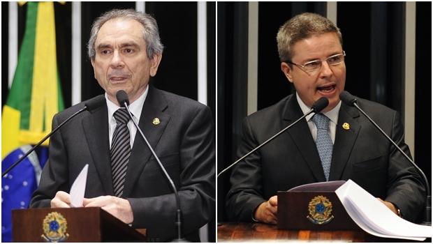 Raimundo Lira (PMDB-PB) e Antonio Anastasia devem ser confirmados como presidente e relator da comissão | Fotos: Agência Senado