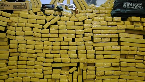 Polícia Civil apreende 1,5 tonelada de maconha em Goiás