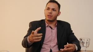 Ian Leal, secretário de Mobilização, critica atuação política da UNE | Foto: Renan Accioly