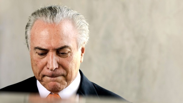Pesquisa do Ibope revela que 92% não querem Temer na presidência