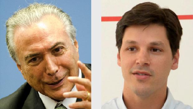Michel Temer na Presidência fortalece candidatura de Daniel Vilela a governador de Goiás