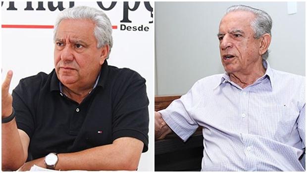 Vilmar Rocha faz fotografia com Iris Rezende e diz que iria enviá-la para Marconi Perillo