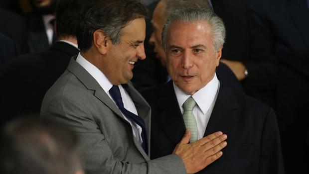 Aécio pede que Calero seja investigado por gravação de diálogo com Temer