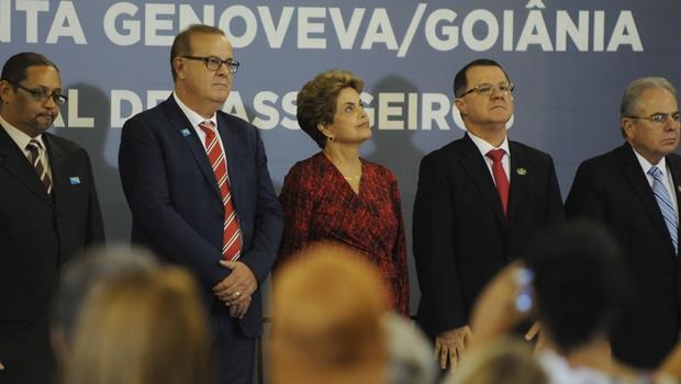 """Dilma Rousseff: """"Eu estou impressionada com esse novo Santa Genoveva"""""""