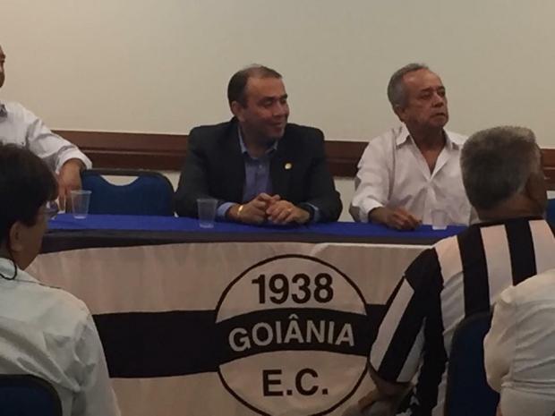 Eduardo Machado presidente do Goiânia