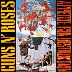 O álbum de estreia do Guns gerou polêmica e, após pressão, acabou substituída