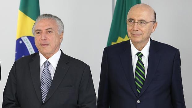 """Presidente interino Michel Temer e o ministro Henrique Meirelles propõem medidas que têm como """"espelho"""" ações goianas   Foto Lula Marques/Agência PT"""