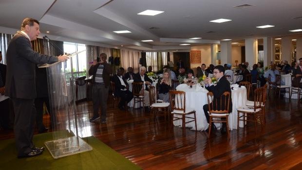 Em encontro com ebaixadores de países africanos, Marconi defendeu parcerias comerciais | Foto: Mantovani Fernandes