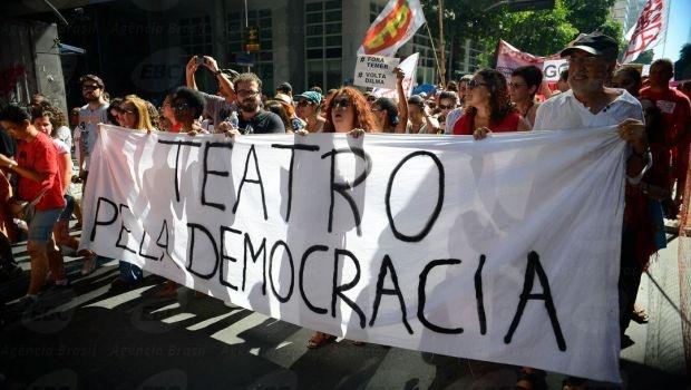 Manifestantes também fizeram passeata no Rio de Janeiro | Foto: Tomaz Silva/Agência Brasil