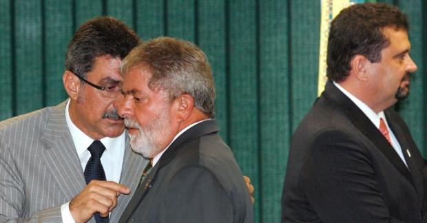 Romero Jucá e Lula 2