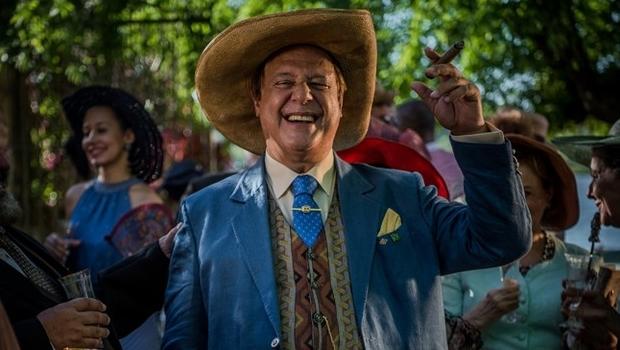 Antônio Fagundes vive o Coronel Saruê, em Velho Chico | Foto: Caiuá Franco / Globo