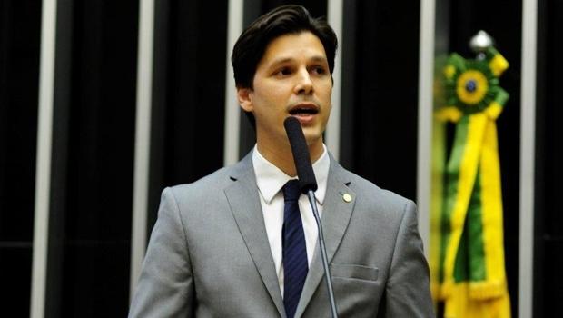 Deputado federal Daniel Vilela na tribuna | Foto: repordução
