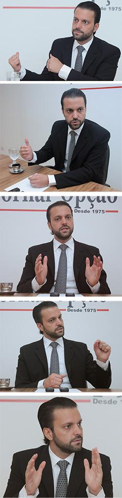 Na foto Alexandre Baldy Foto: Renan Accioly/Jornal Opção