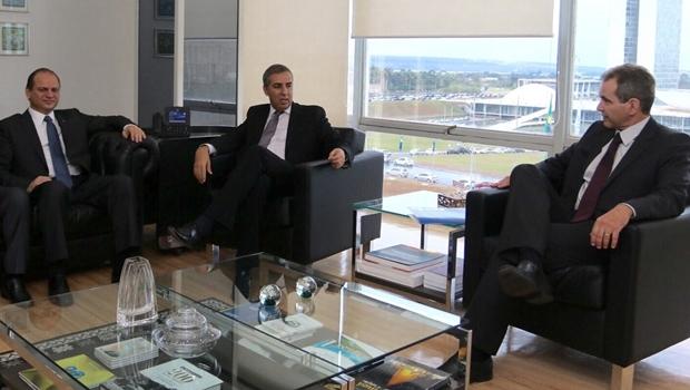 José Eliton se reúne com novo ministro da Saúde e apresenta demandas de Goiás