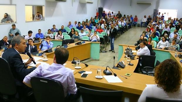 Vice-governador na audiência pública | Foto: Wildes Barbosa