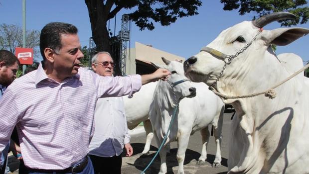 Governador se encontra com empresários da Sociedade Goiana de Pecuária e Agricultura
