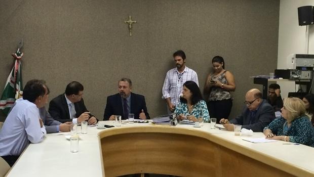 CCJ decide pelo arquivamento do projeto de Decreto Legislativo que cassa o alvará do Nexus | Foto: Larissa Quixabeira / Jornal Opção