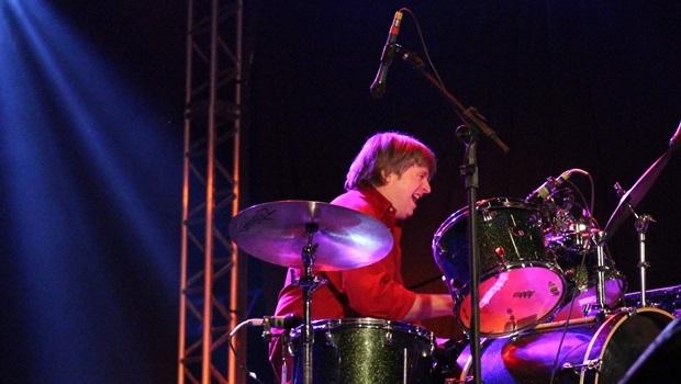 Steve Shelley, do Sonic Youth, foi a grande estrela internacional do sábado no Bananada | Foto: Bruna Aidar