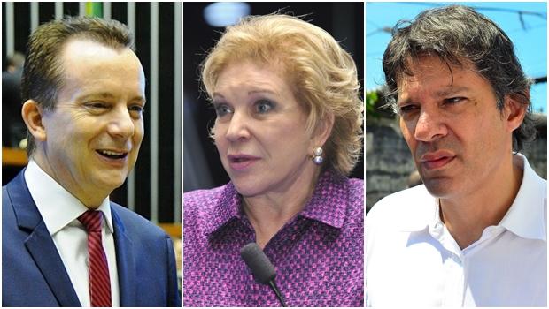 Em SP, Russomano lidera com 32%. Marta tem 13% e Haddad, 11%