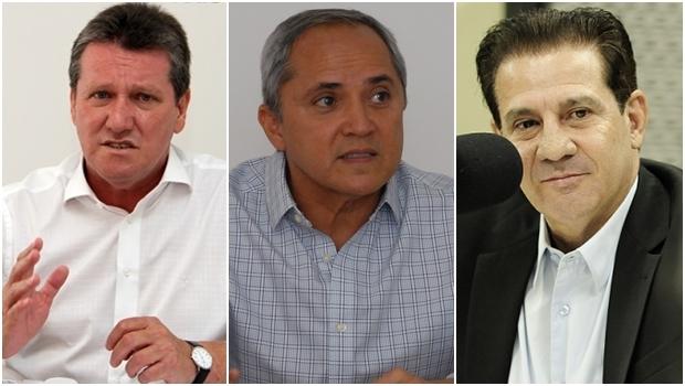 Giuseppe Vecci, Luiz Bittencourt e Vanderlan Cardoso: candidatos que têm discurso moderno e articulado