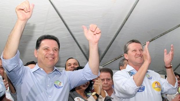 Marconi e Vecci durante a campanha de 2014 | Foto: Humberto Silva