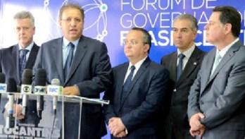 """Marcelo Miranda e colegas em fórum de governadores, em Palmas: """"Unidos, somos muito mais fortes"""""""