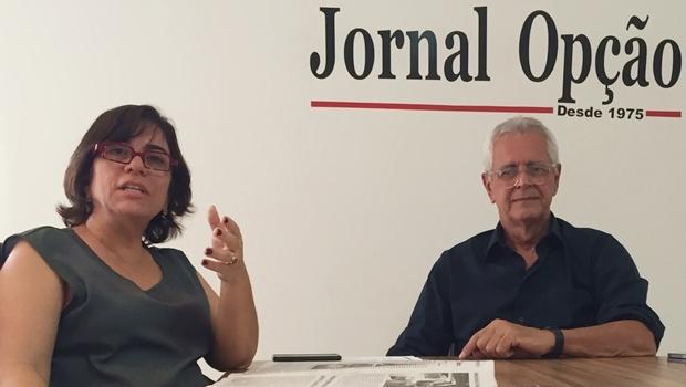 Maria Ester e Arnaldo Mascarenhas em entrevista a Jornal Opção: há muitas informações desencontradas sobre o Nexus | Foto: Alexandre Parrode