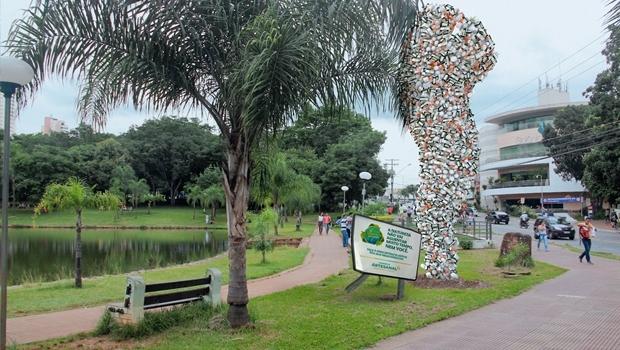 Foto-montagem mostra como ficará Parque Vaca Brava a partir deste domingo | Foto: Reprodução