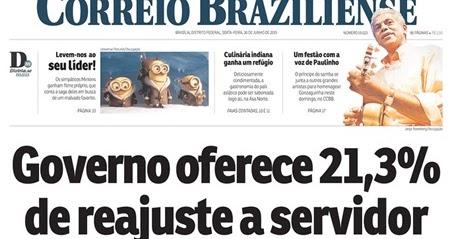 Correio Braziliense 2 capa correiobraziliense