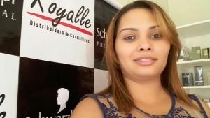 """Empreendedora de Beleza, Gisele Daiana: """"O Sebrae foi ótimo para mim, pois trouxe maturidade ao negócio. Tenho boas expectativas para o Fegobel"""""""