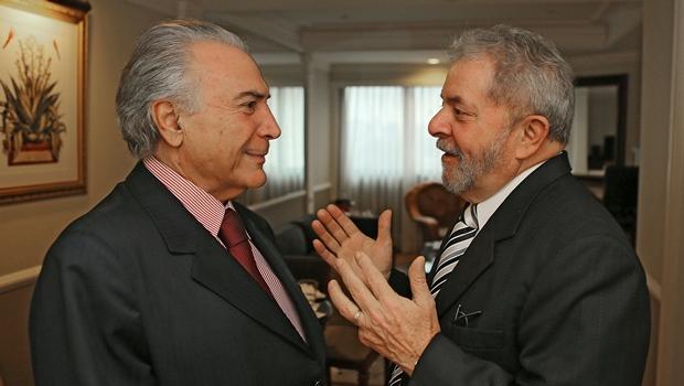 Temer e Lula estão na lista de testemunhas de defesa de Eduardo Cunha