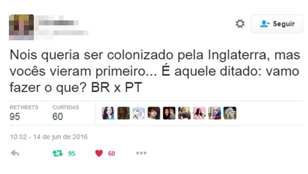 Os melhores comentários da briga Brasil x Portugal no Twitter
