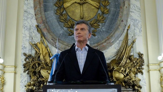 Presidente da Argentina Maurício Macri vem ao Brasil na próxima terça-feira (7/2)