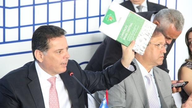 Governador de Goiás, Marconi Perillo (PSDB), presidente do Fórum | Divulgação / Gabinete Imprensa