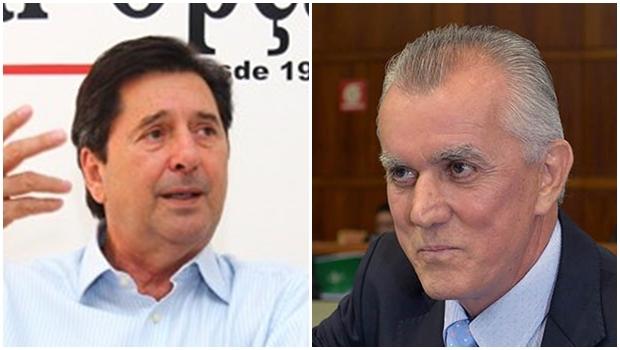Maguito Vilela e Victor Priori